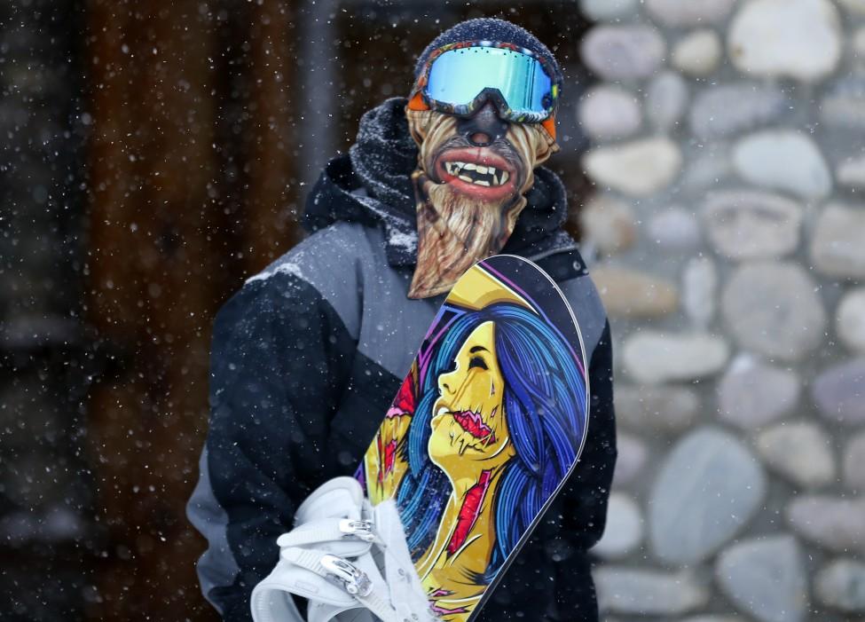 Snowboarder Bryce Macdermott