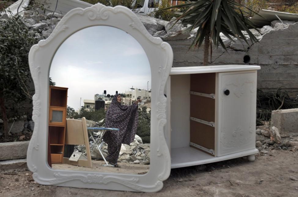 Palestinians Idrael Jerusalem Demolition