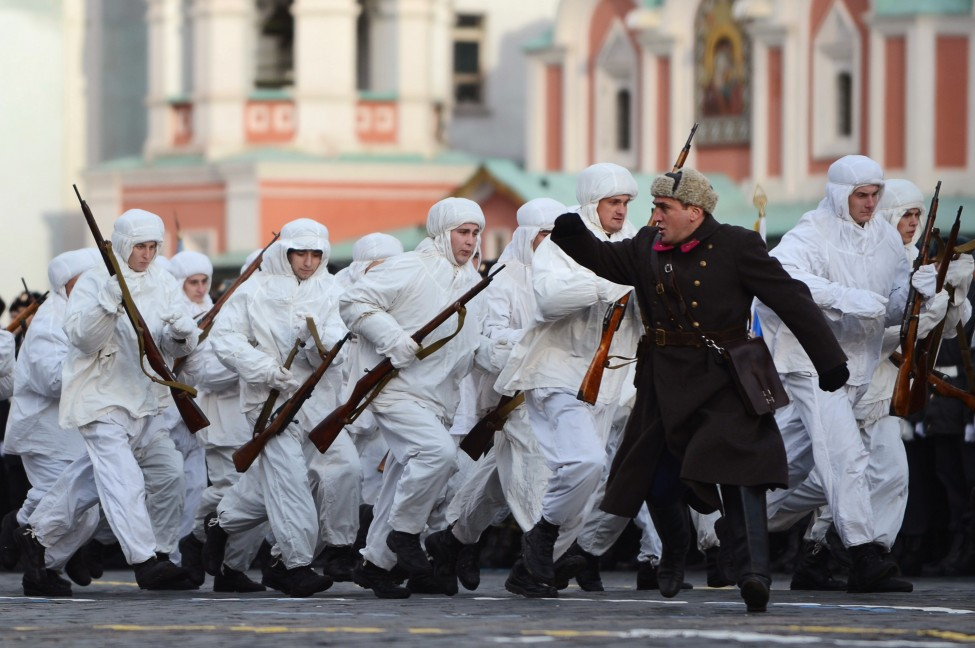 Russia WWII Parade Rehearsal