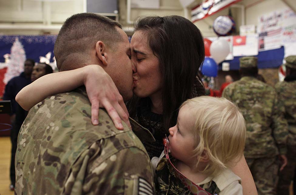 US Soldiers Return Home