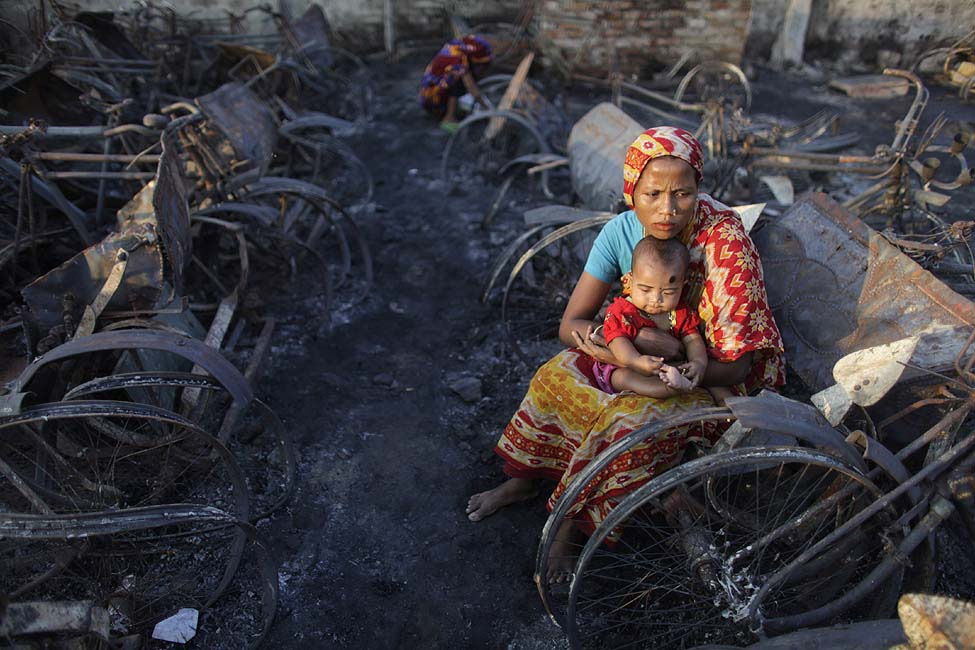 Bangladesh Fire Homeless