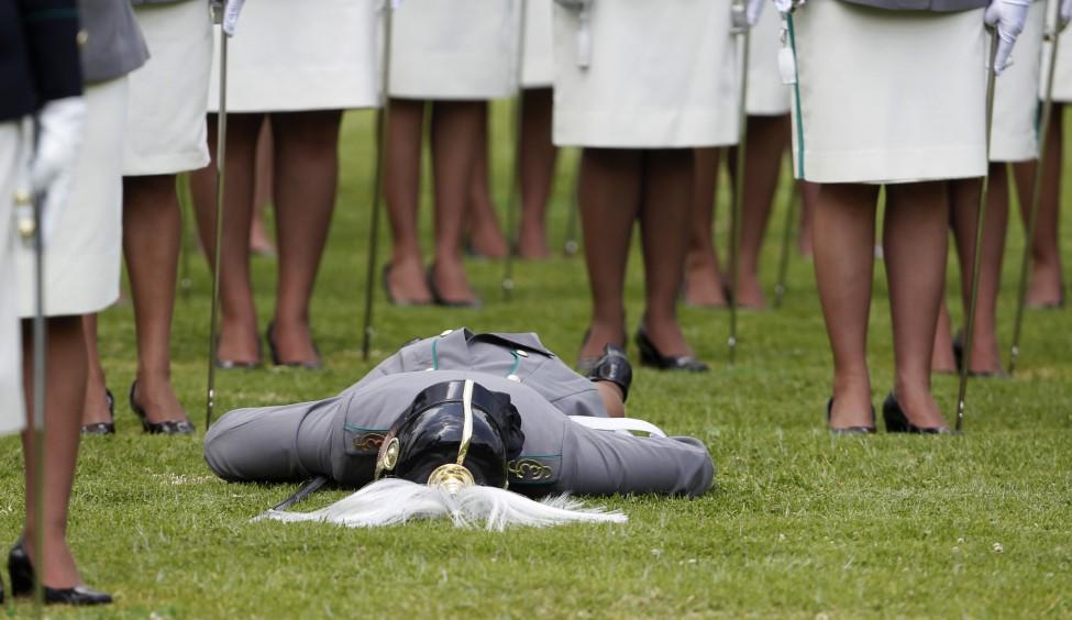 Colombia Police Graduation