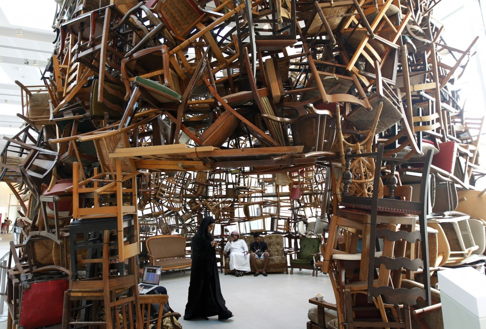 UAE Art Installation