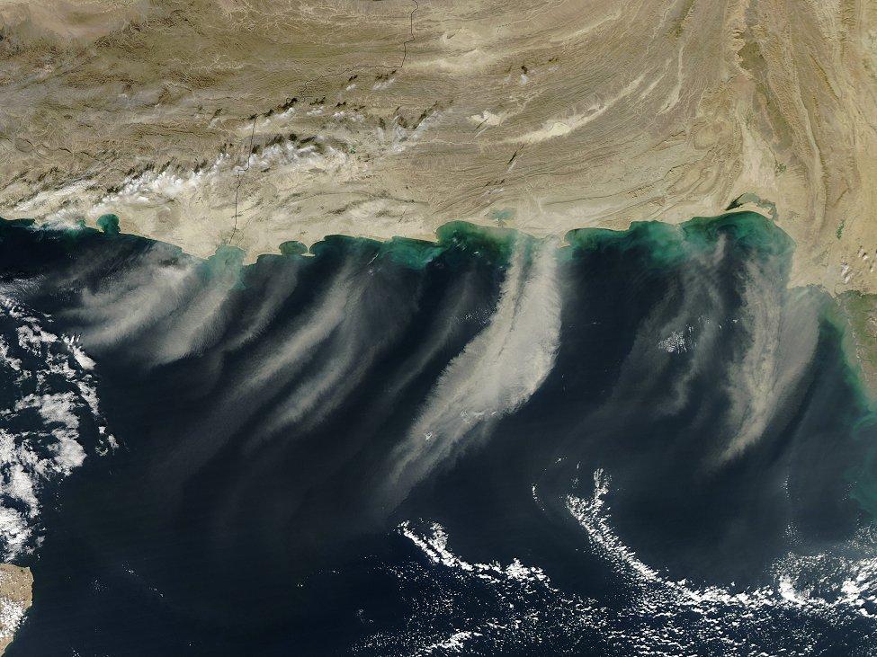 NASA Dust Plumes