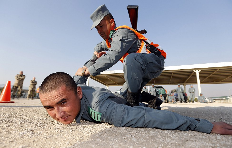 Afghan Police Training