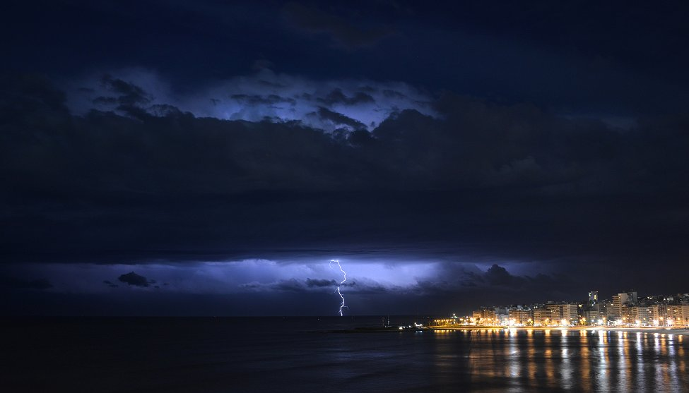 Montevideo Lightning Storm