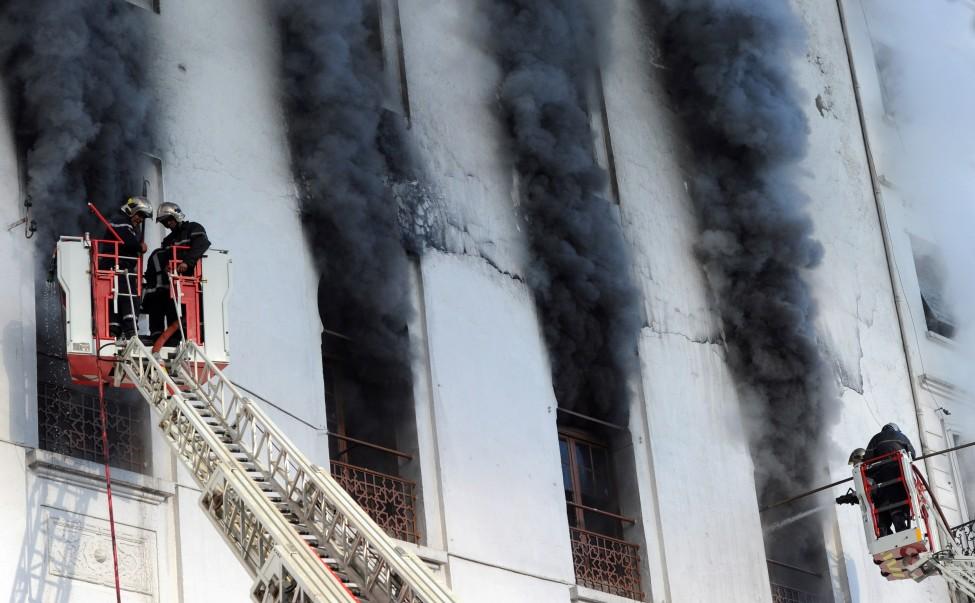 Algeria Fire