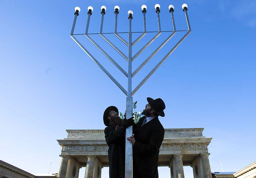 Germany Hanukkah Menorah