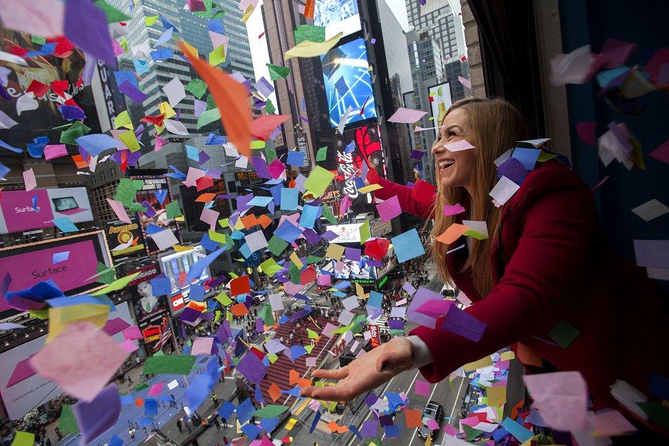 NYC Confetti Test