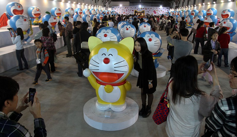 Taipei Doraemon Exhibit