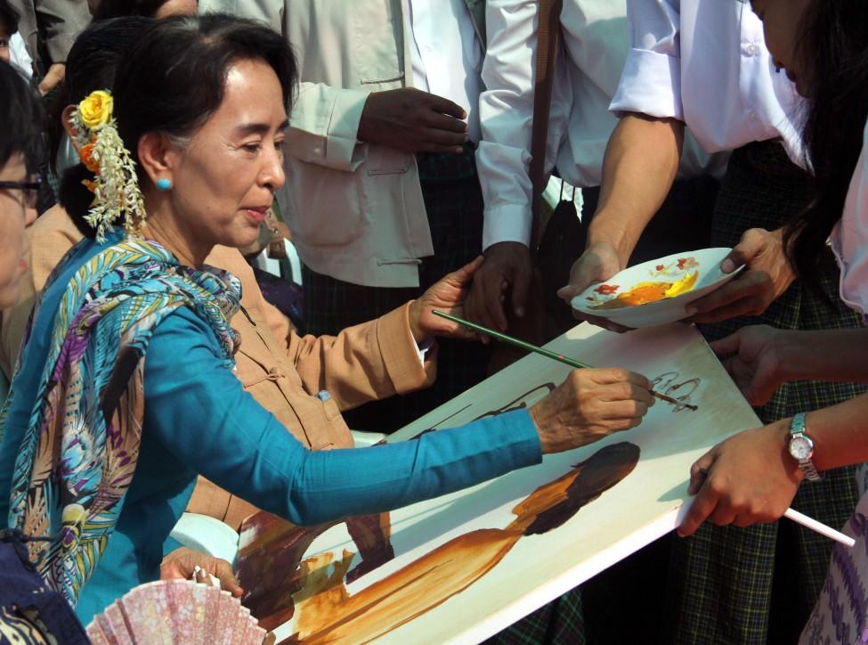 Burma Aung San Suu Kyi