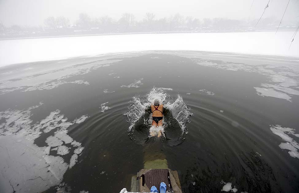 China Ice Swimmer