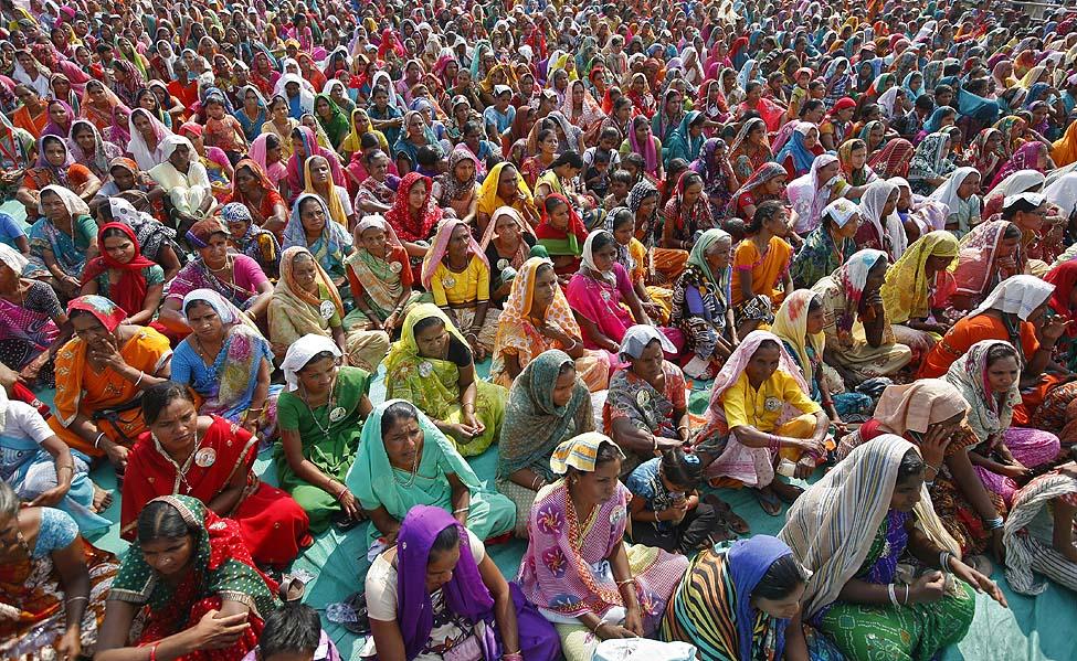 India Political Rally
