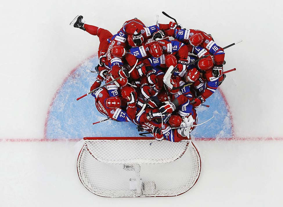Russia US Hockey