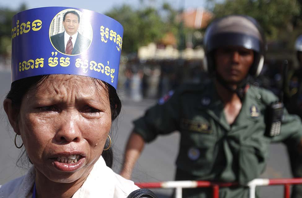 Cambodia Protesters Sonando