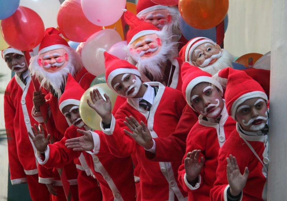 India Santa Claus