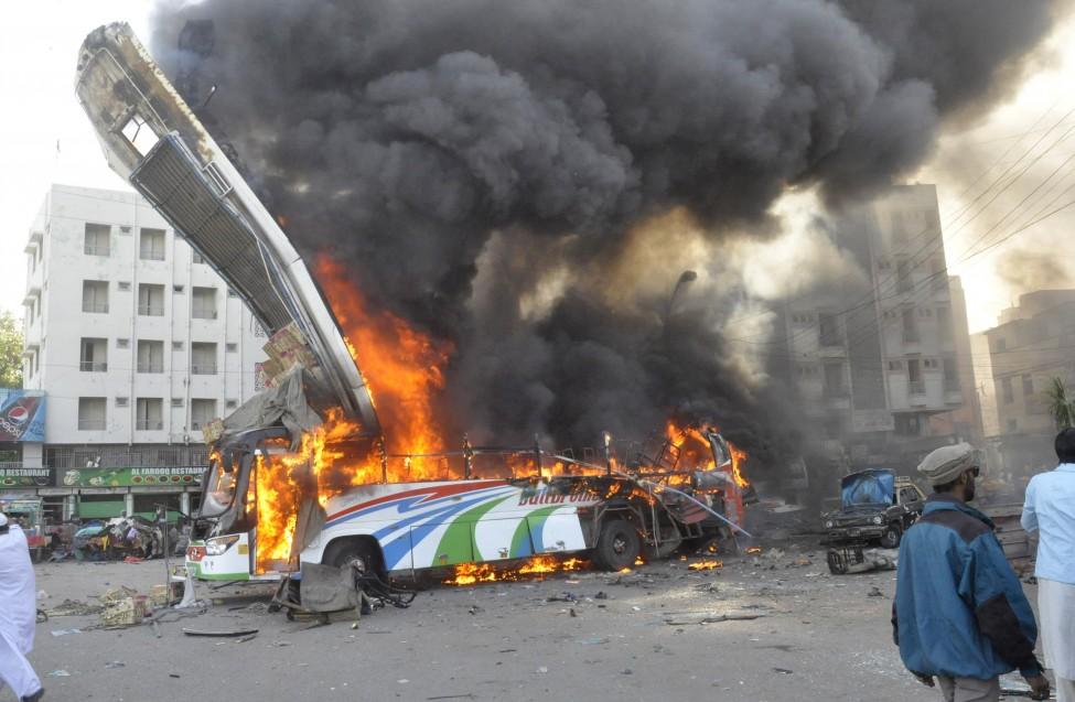 Pakistan Bomb Explosion