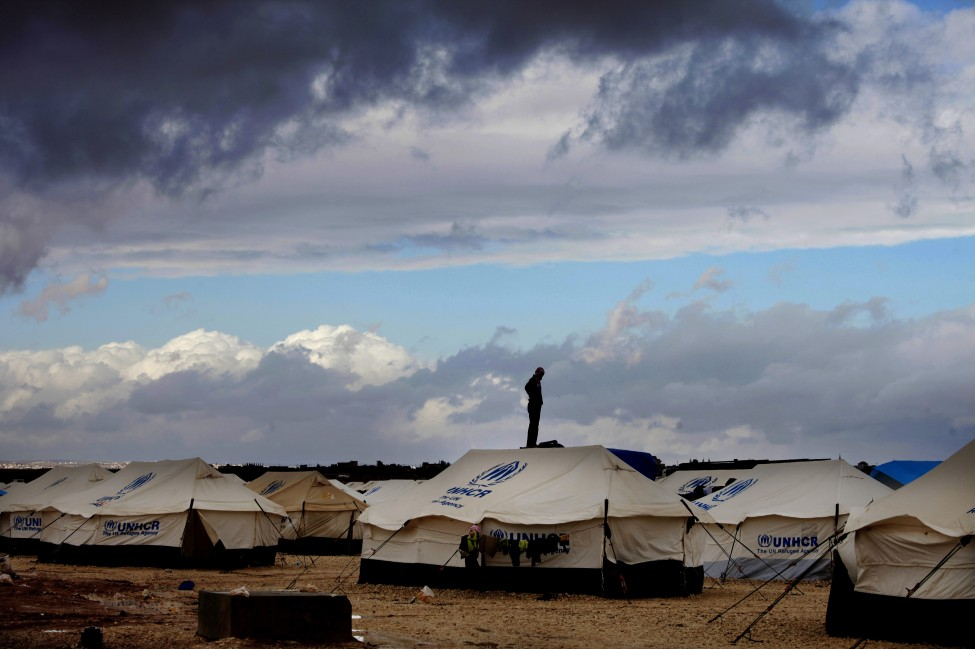 Jordan Syria Refugees Winter
