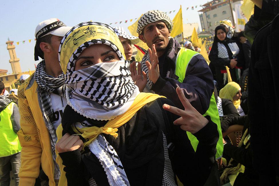 Fatah Palestinians Gaza