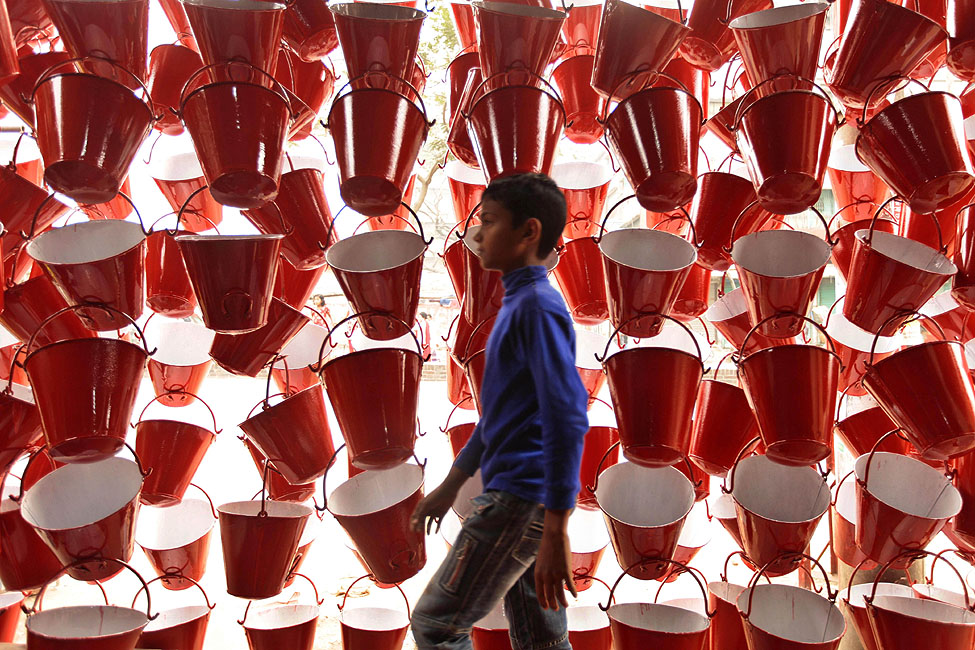 Bangladesh Water Buckets