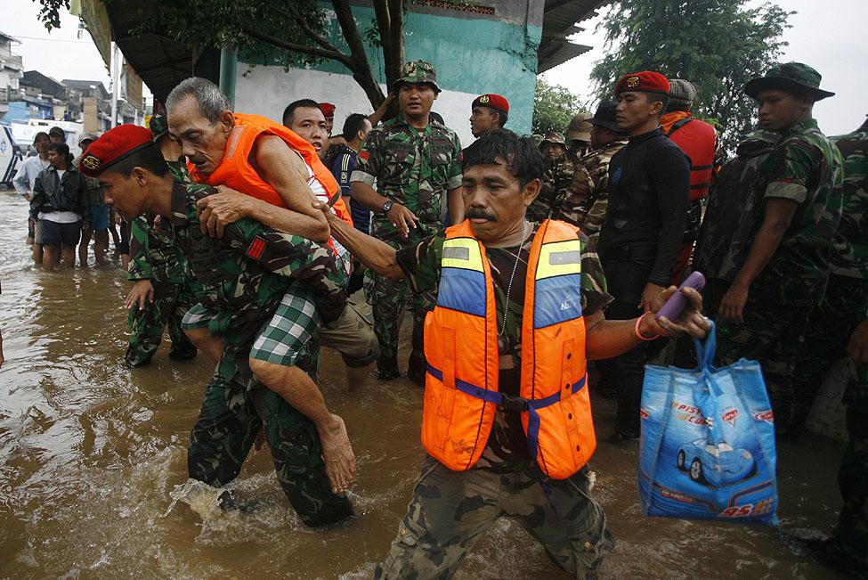 Jakarta Indonesia Floods