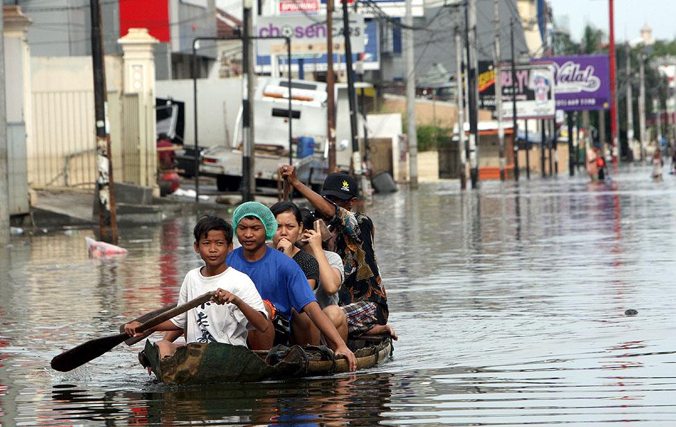 Indonesia Floods Jakarta