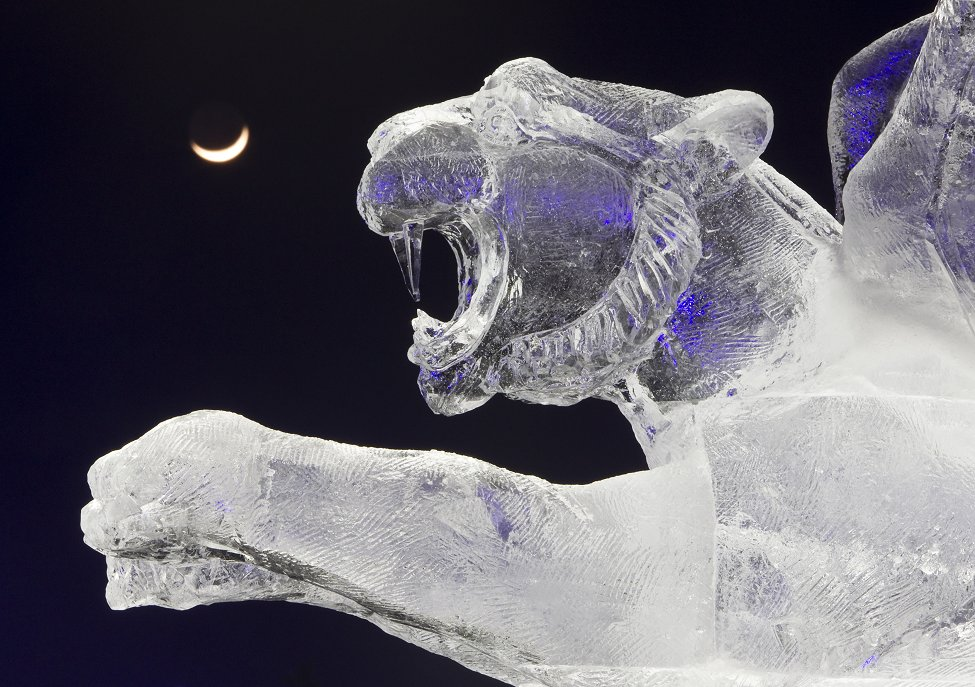 Kazakhstan Ice Sculptures