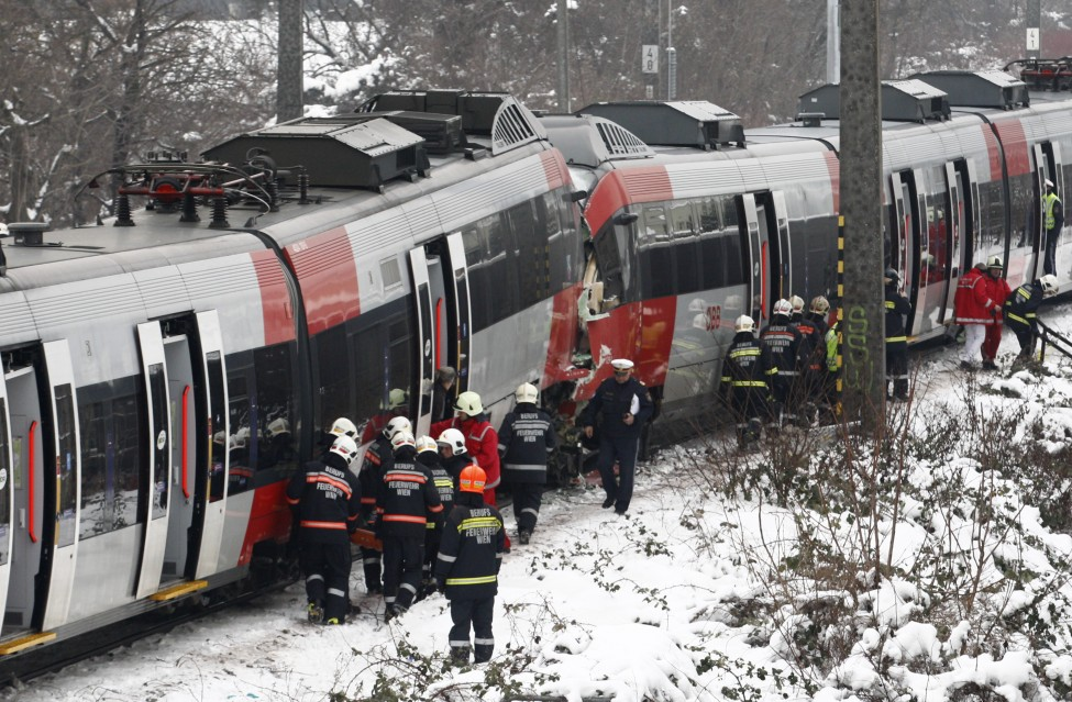 Austria Train Accident