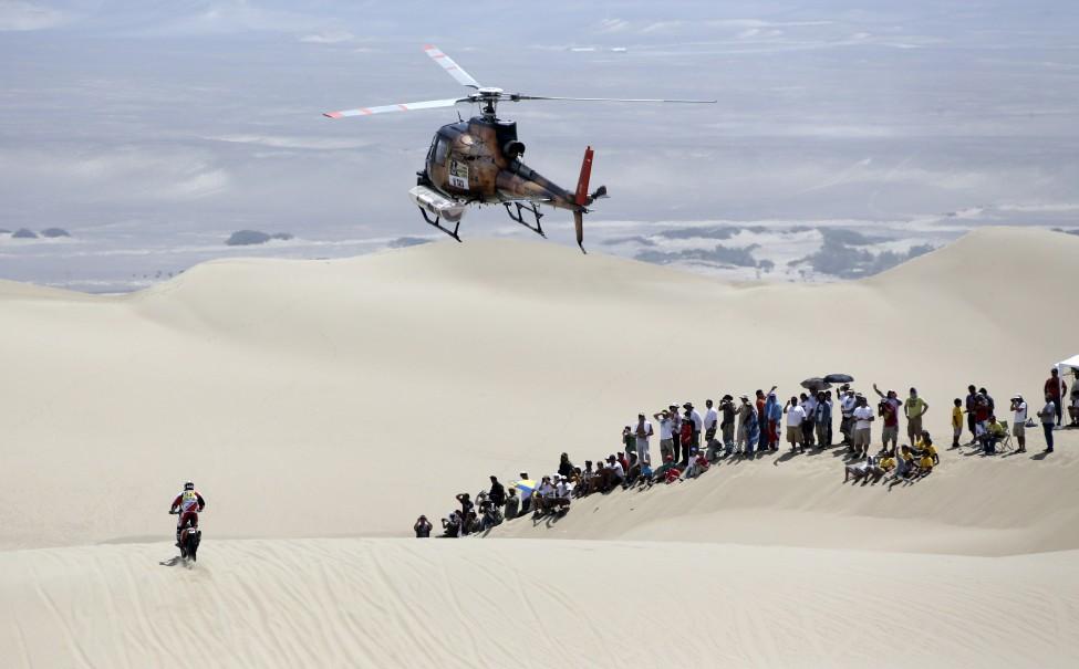 Peru Dakar Rally 2013