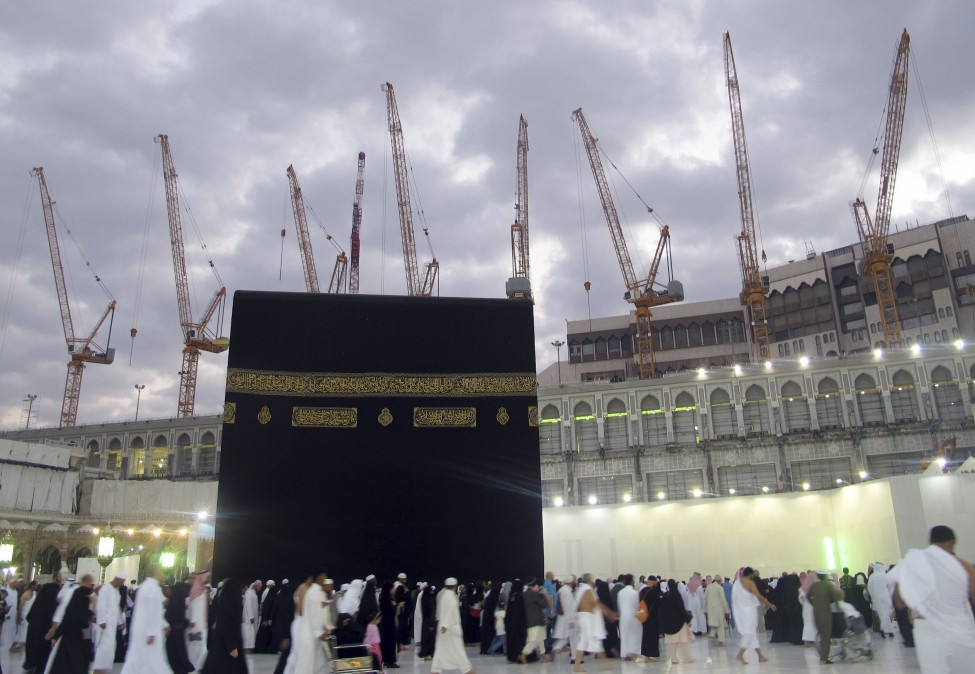 Saudi Arabia Mecca Construction