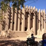 View of a mosque in Mopti, Mali. (Idrissa Fall/VOA)