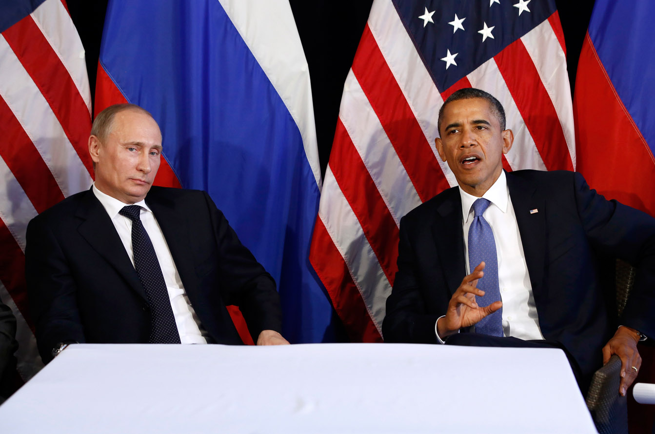 Image result for russian president with obama