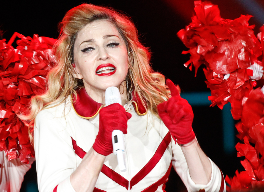 Singer madonna spoke out in favor of freeing the three jailed