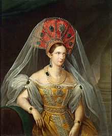 In 1832, Czarina Alexandra Feodorovna gave the U.S. Ambassador what is now perennial advice from Russia: stay out of European affairs. This oil portrait was painted by A. Malyukov in 1836, three years after she danced with Buchanan during St. Petersburg's winter season balls of 1833. Photo: Hermitage Museum
