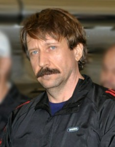 Viktor Bout, Russian arms merchant, arrives for trial in New York after extradition from Bangkok. Russian officials and state-controlled media have turned his extradition, trial, and conviction into a contemporary cause celebre. Photo: US Drug Enforcement Agency