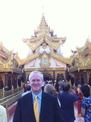Jim Brooke in Yangon. Based in Phnom Penh, Brooke will also work as editor in chief of The Burma Daily, a new website.