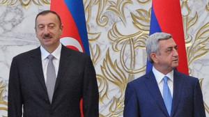 Ильхам Алиев и Серж Саркисян