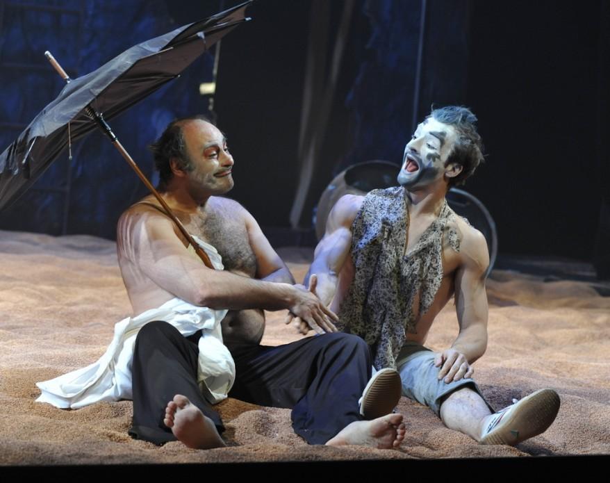 Ираклий Кавсадзе – Король Лир и Бен Канис – Эдгар