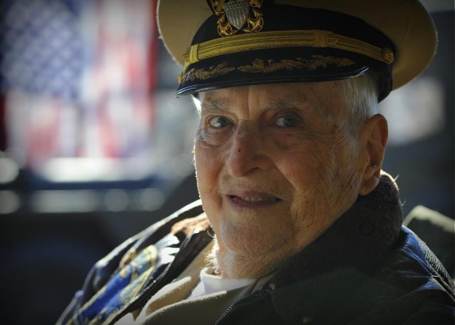 Офицер ВМФ – участник Второй мировой