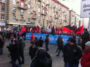 Российские анархисты: в ожидании весны?  Фото: Джеймс Брук, «Голос Америки»