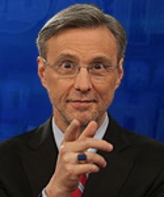 Том Хартманн, ведущий передачи «Общая картина» на финансируемом Кремлем телеканале RT: критика Америки с американским акцентом. Фото: RT