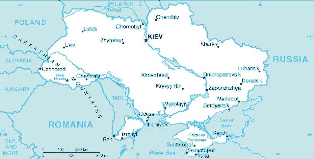 Российское влияние ослабевает по мере движения с востока на запад Украины. Многие века западная часть страны управлялась Польшей или Австрией. Эту ориентацию на Запад пресек Сталин, когда присоединил Западную Украину к Советскому Союзу в 1939 году.