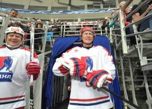 Эксперт по дзюдо и карате, президент Путин последние годы учился кататься на коньках, чтобы помочь в рекламе зимней Олимпиады в Сочи. Фото: Алексей Никольский/Reuters.