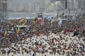 Пляж Копакабана в Рио-де-Жанейро, фото: AP