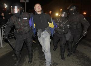 Киев. Майдан. 30 ноября. AP/Sergei Chuzatkov