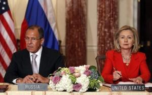 Сергей Лавров и Хиллари Клинтон (Photo: Reuters)