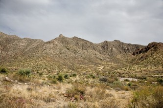The Franklin Mountains in West Texas (Photo: Charlie Llewellin/llewellin.net)
