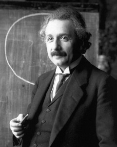 Albert Einstein (circa 1921) theorized that the universe expands, but such expansion slows over time.  Recent observations indicate that the opposite may be true that the universe if expanding at an faster rate. (Photo: Creative Commons/Wikipedia)
