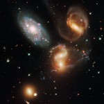Stephan's Quintet (Photo: NASA, ESA, and the Hubble SM4 ERO Team)