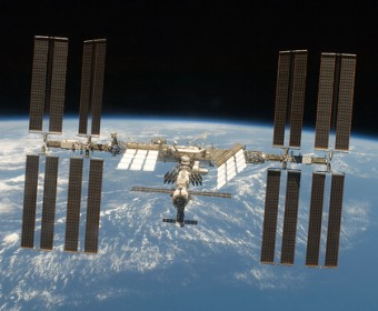 International Space Station as seen from Space Shuttle Discovery (Photo: NASA)